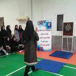 برگزاری مسابقات پرتاب دارت و طناب زنی ویژه دانشجویان خانم